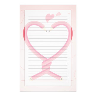 Pencils in Love Stationery
