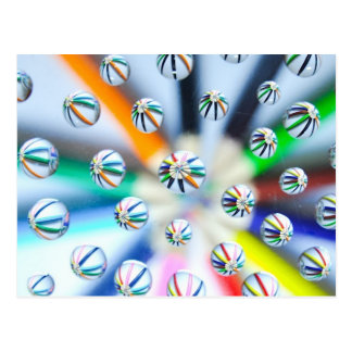 Pencils-in-water-drops870.jpg Postcard