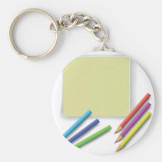 pencils keychain