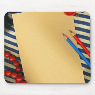 Pencils, pappers and other articles mouse pad