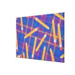 Pencils Stretched Canvas Print