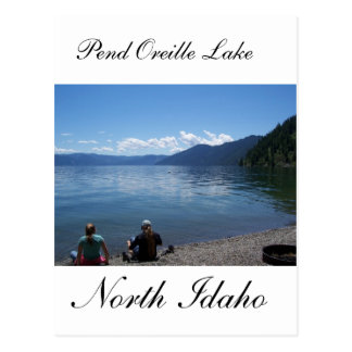 Pend Oreille Lake, North Idaho Postcard