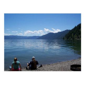 Pend Oreille Lake, Sandpoint, Idaho Postcard