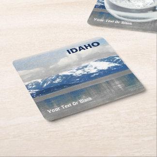 Pend Oreille Square Paper Coaster