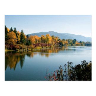 Pend O'rielle River Postcard