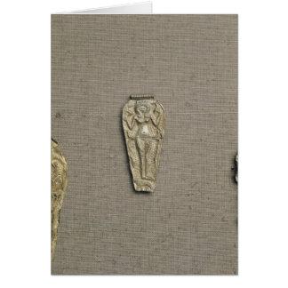 Pendant depicting Astarte, goddess of fertility Card