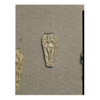 Pendant depicting Astarte, goddess of fertility Postcard