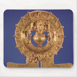 Pendant representing a sun disk, Zaachila Mousepad