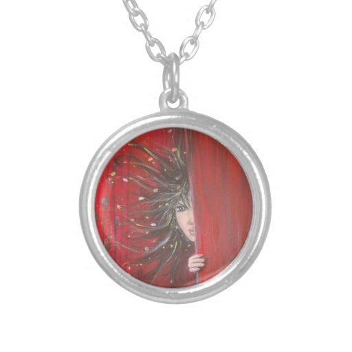 pendantif red elf custom jewelry