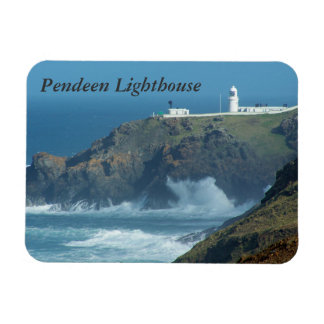Pendeen Lighthouse Cornwall England Photo Magnet