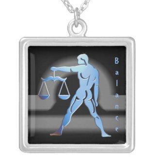 Pendentif signe du zodiac Balance Necklace