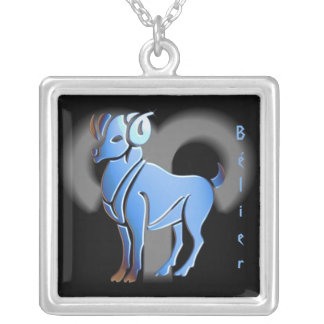 Pendentif signe du zodiac Bélier Custom Necklace