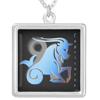 Pendentif signe du zodiac Capricorne Necklace