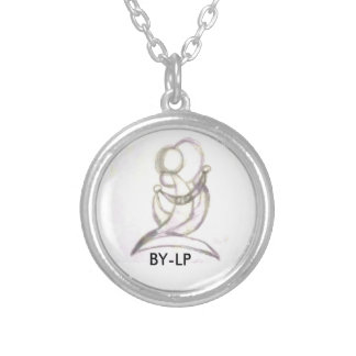 pendentive BY-LP Round Pendant Necklace