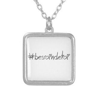 Pendentive need for you! said him with humour! silver plated necklace