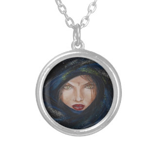 Pendentive Tuareg Round Pendant Necklace