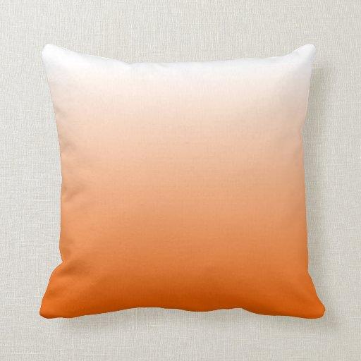 Pendiente anaranjada cojín