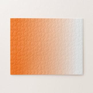 Pendiente anaranjada rompecabeza con fotos