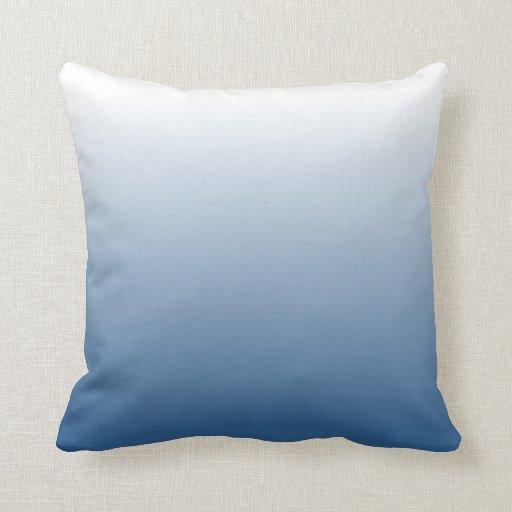 Pendiente azul almohada
