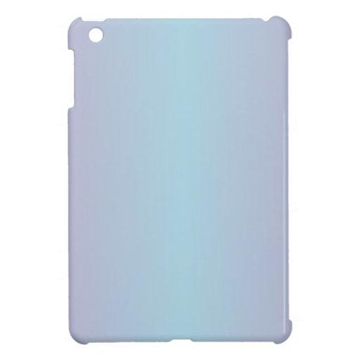 Pendiente azul clara y de la lila iPad mini coberturas
