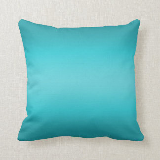 Pendiente azul de la aguamarina oscura y ligera - almohadas