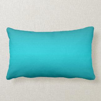 Pendiente azul de la aguamarina oscura y ligera - cojin