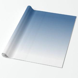 Pendiente azul papel de regalo