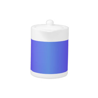 Pendiente azul y eléctrica del Cornflower del añil