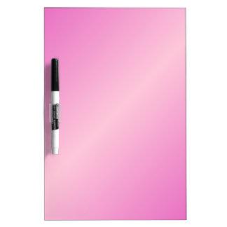 Pendiente bilinearia D2 - rosado y rosa claro Tablero Blanco