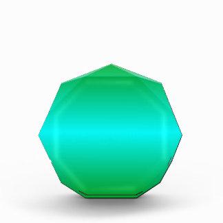 Pendiente bilinearia de H - verde y ciánica
