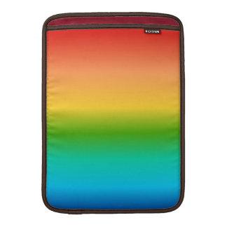 Pendiente colorida del color del arco iris fundas MacBook