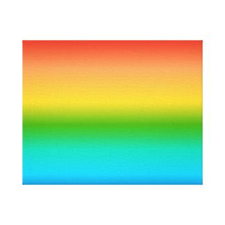 Pendiente colorida del color del arco iris lona estirada galerias