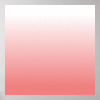 Pendiente coralina ligera poster