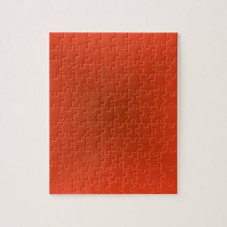 Pendiente cuadrada - roja clara y rojo oscuro puzzles con fotos