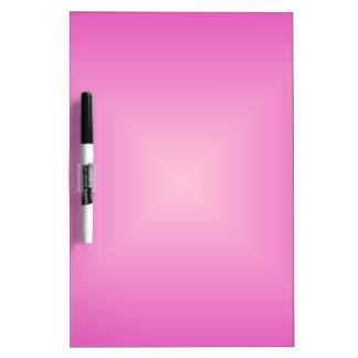 Pendiente cuadrada - rosado y rosa claro oscuros pizarras blancas