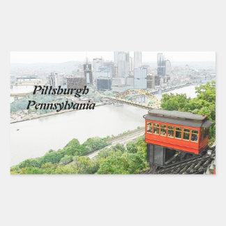 Pendiente de Duquesne en Pittsburgh Pennsylvania Rectangular Altavoz