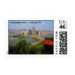 Pendiente de Duquesne, Pittsburgh, sello del PA