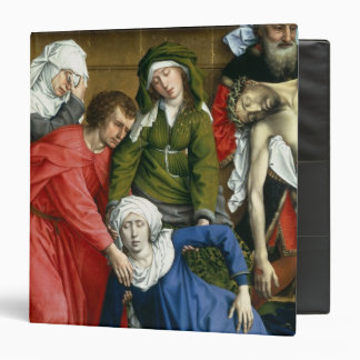 "Pendiente de la cruz, c.1435 carpeta 1 1/2"""