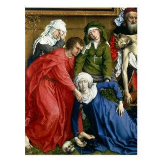 Pendiente de la cruz, c.1435 postales