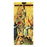 Pendiente de la cruz por Martini Simone Tarjetas Publicitarias A Todo Color