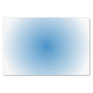 Pendiente de la parte radial del cielo azul papel de seda pequeño