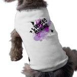 Pendiente de la paz camisetas de perrito