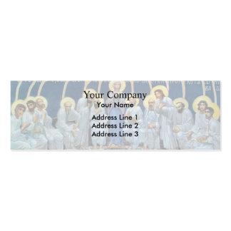Pendiente de Mikhail Vrubel- del Espíritu Santo en Tarjetas De Visita