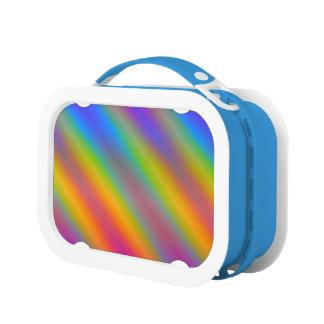 Pendiente de neón del arco iris