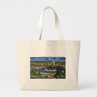 Pendiente de Shannon del castillo, Pittsburg, PA Bolsas De Mano