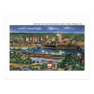 Pendiente de Shannon del castillo, Pittsburgh, PA Postales