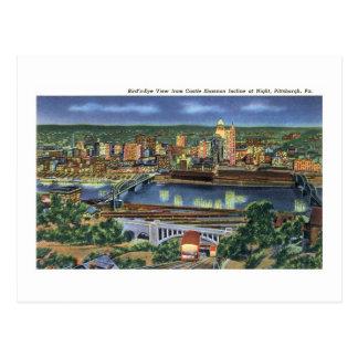 Pendiente de Shannon del castillo, Pittsburgh, PA Tarjeta Postal