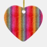 Pendiente del arco iris del brillo ornato
