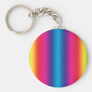 Pendiente del arco iris - plantilla modificada llavero redondo tipo pin