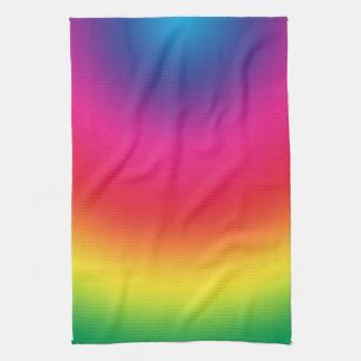 Pendiente del arco iris - plantilla modificada par toalla